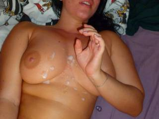 i so need you here to fuck and cum all voer your face and big fucking tits you hot slut