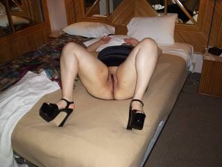 My Wife ready to be used.