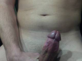 Mmmmm, your hard dick gave my wet pussy an urgent need to be penetrated... Stretch my hot tunnel and fill it with your creamy cum...