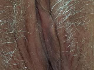 A close up of my pussy, and the hair surrounding it. Do you like?