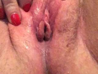 Hairy, but oh so wet!