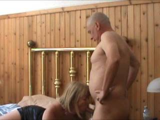 Mrs Ikpm loves sucking my cock, it makes her so wet. This time she\'s enjoying the extra width and length with the extender in. I think she enjoyed it don\'t You?
