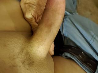 Damn my man has a nice cock don\'t you think so?