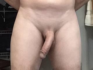 Freshly shaved cock!