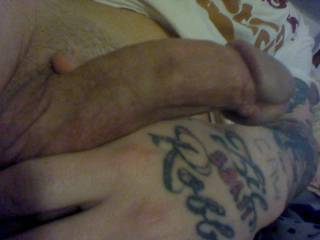 white hard dick.. right before i stuck it in a wet tight pussy