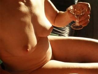 my favourite tipple, would taste nice on those nipples