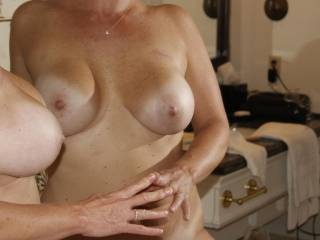 You are one very beautiful woman!!  Your breasts are gorgeous!!!