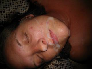 I think you are great!  Gotta love a lady who wants to show off a facial!