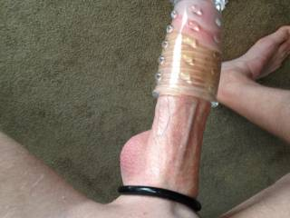 I love guys who shave nice and smooth, and wear cock rings