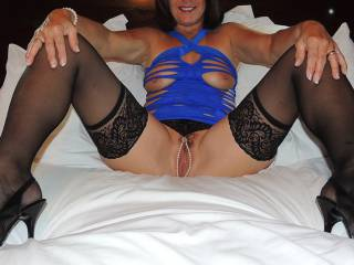 It really turns me on to see your beautiful body with this sexy lingerie! My cock is rock hard right now!