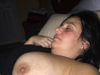 Very pretty lady, and magnificent luscious big beautiful boobs!