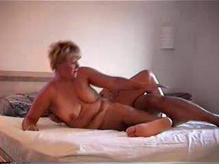 I just get so fucking geeked up seeing your wife get fucked fast and she loves it!, the question is can I borrow her for a few days?  lollove your vids!