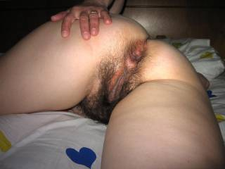 Gorgeous hot and sexy wife showing her cunt