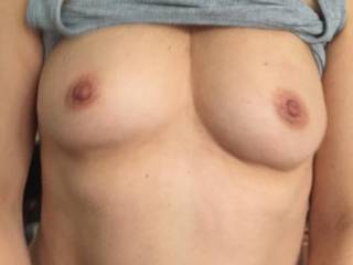 keep ridding !!!!!! while he shoot a pic of my perky nipples !!!! he said my nipples are a turn on for him !!!!! do you agree??