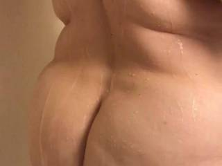 Shower fun on vacation