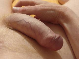 Love to have my balls tickled and played with.