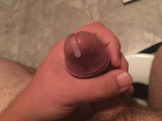 its oozing out. I can't hold it much longer. Would you finish me off and take this load?