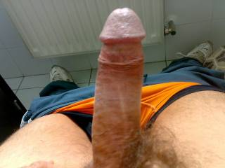 Your uncut cock is an erotic beauty...love your thickness and foreskin.