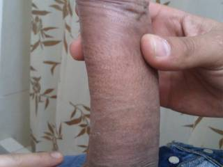 Truly sensual, erotic, great uncut dick...wonderful foreskin and thickness