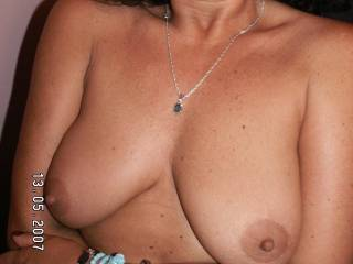 Yes they are nice nipples...would love to suck on them!