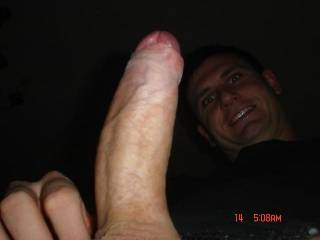OMG, such a splendid cock, wish I could suck and jack it off in my mouth.  Thanks for all to photos.   Please post moreplus a few videos if possble.