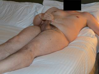 Bored in my hotel room. Looking at Zoig, see what the photos of the insatiables did to me....