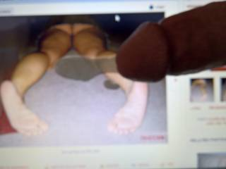 mmmm only if I was cumming on your sexy soles in person mmm
