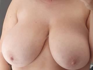 My girls amazing tits