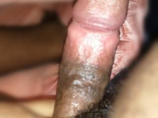 Was playing with my dick!!!
