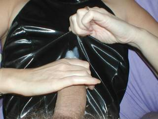 mmmmmmmmmmmmmmmm love to have her demand i lick her clean as i fu-- her boots!!!