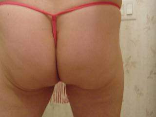 such a hot ass! I love the feeling of my thongs against my asshole.