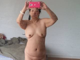way to go! i know it took hard work to lose it. love seeing your body both ways. you were and still are sexy looking to me.