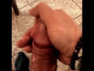 strock my big cock