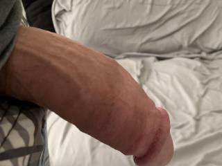 My cock about to get sucked
