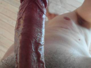 Makes me so wet thinking how it would feel to swallow this gorgeous dick deep in my pussy, all the way down to the balls...