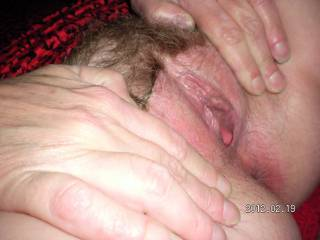 MY PUSSY AFTER A BIG BLACK COCK FUCKED ME!!!! YUMMY