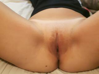 mmmm........YUMMY!  I am!  It would be much better if my face was in there, feasting on your pussy.