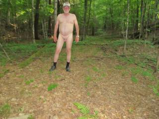 out for a walk    would you play with my cock