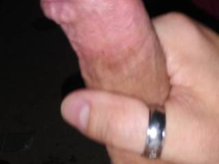 Playing with my dick