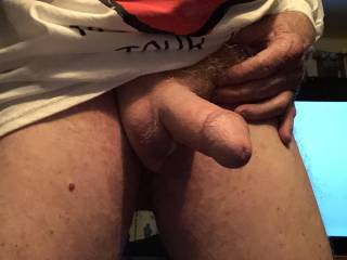 Horny, going to jerk off now.