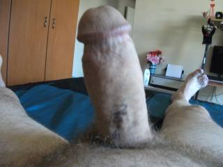 I am so Horny cum over and over some one out there who want my cock inside your pussy it is hard and can cum 4times with out stop hope to hear from your lady;s please like a big pussy thanks