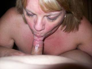 I never get tired of having a sexy married woman attached to the end of my cock!  It\'s pure fun to see Mrs Daytonohfun sucking on my cock while her hubby watches
