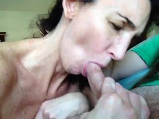 omg!!!! can she please suck my cock next, that must have felt amazing!!  what a great girl.
