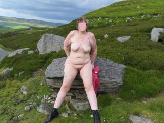 Just long enough to be naked together on the beach or in the country for an hour or two and have lots of fun including taking lots of pics and movies :-) xx