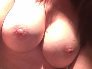 Your nipples deserve to be kissed, licked and sucked.