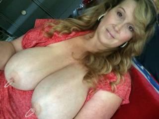 HaHaHa ,my boobs look bigger than my head