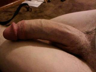 Wow, love that long cock! Bet it would feel really good in my pussy!!