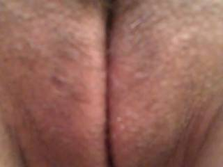 In shaved pussy