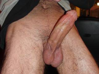 Great looking cock! I'd really enjoy watching you giving my sexy wife's hot pussy n ass a nice fucking with it..