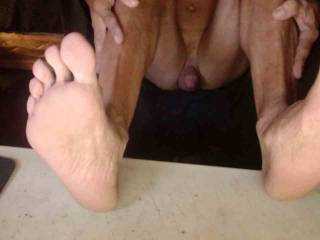 Some asked for a pic of my feet